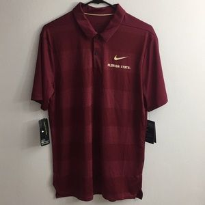 Nike Dri-Fit Florida State Men's Medium Polo Shirt